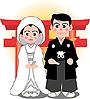 イラスト 結婚式