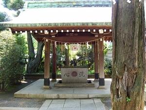 居木神社の手水舎
